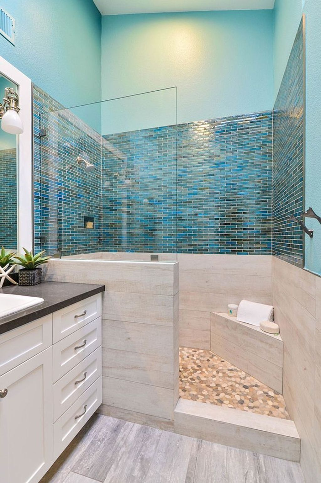 Creative Beach Theme Bathroom Decor Ideas You Will Love 23