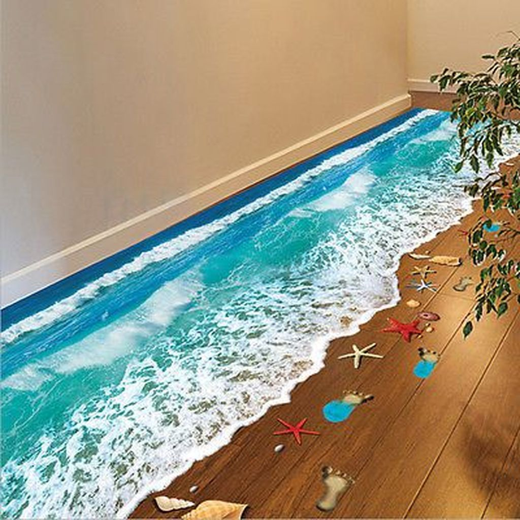 Creative Beach Theme Bathroom Decor Ideas You Will Love 25