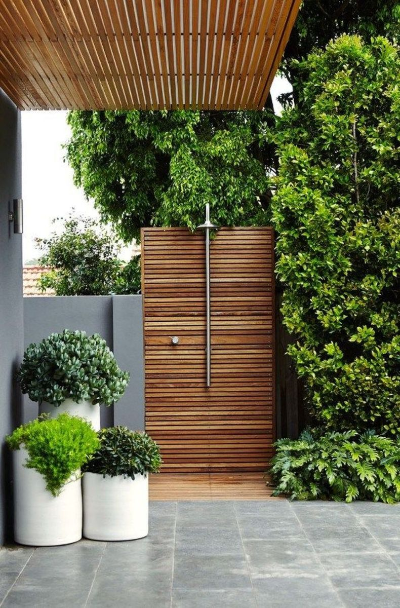 Creative Outdoor Bathroom Design Ideas For Enjoying Summer 31
