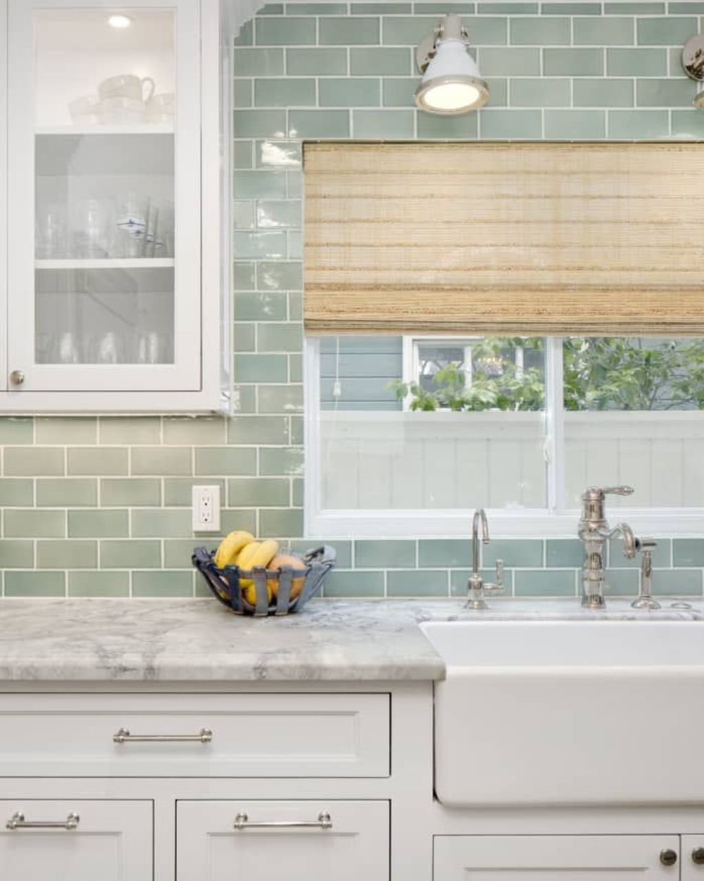 Fabulous Summer Kitchen Backsplash Ideas 18