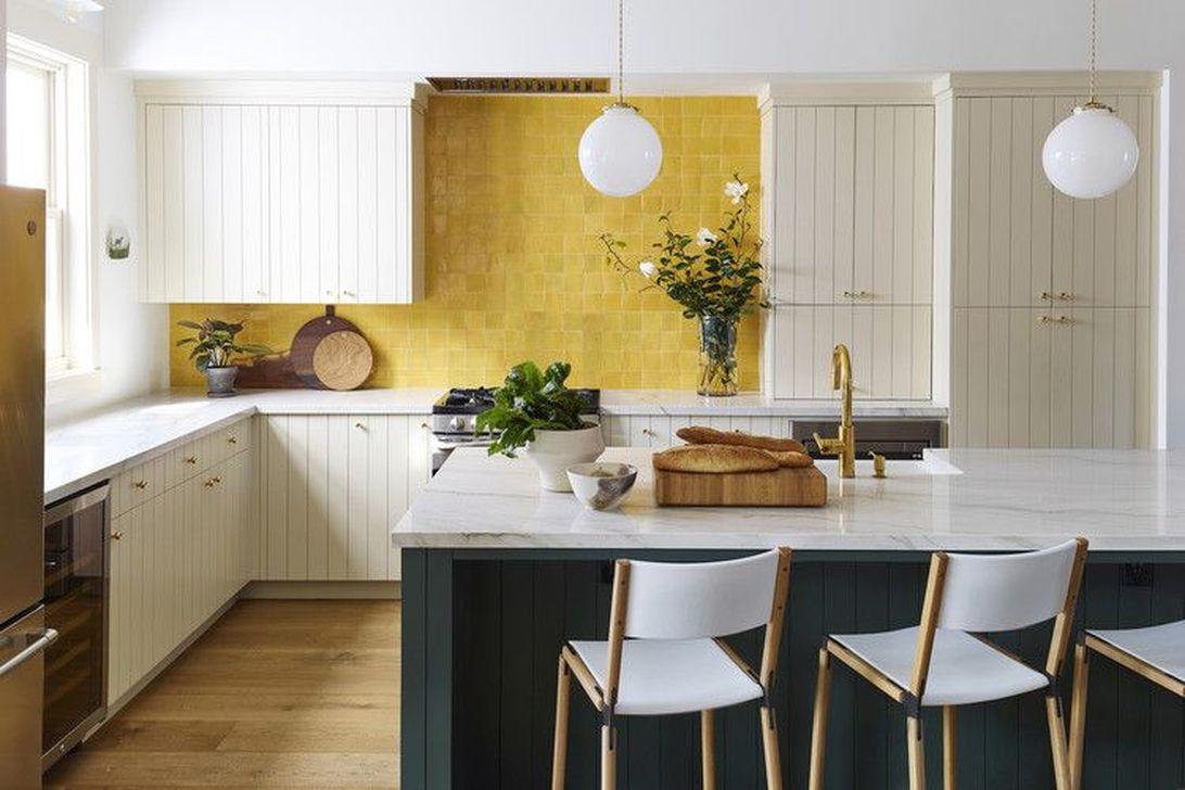 Fabulous Summer Kitchen Backsplash Ideas 24