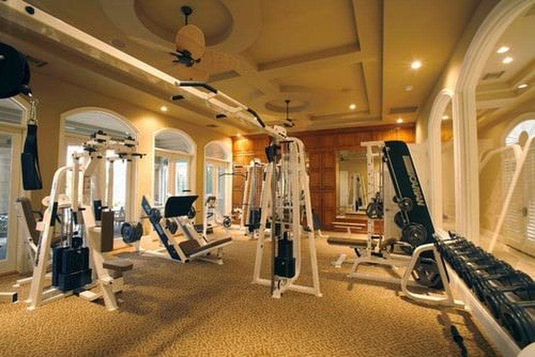 Gorgeous Home Gym Design Ideas Keep You Healthy 04