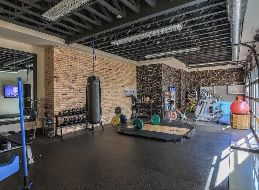 Gorgeous Home Gym Design Ideas Keep You Healthy 15