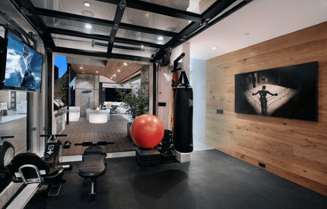 Gorgeous Home Gym Design Ideas Keep You Healthy 18
