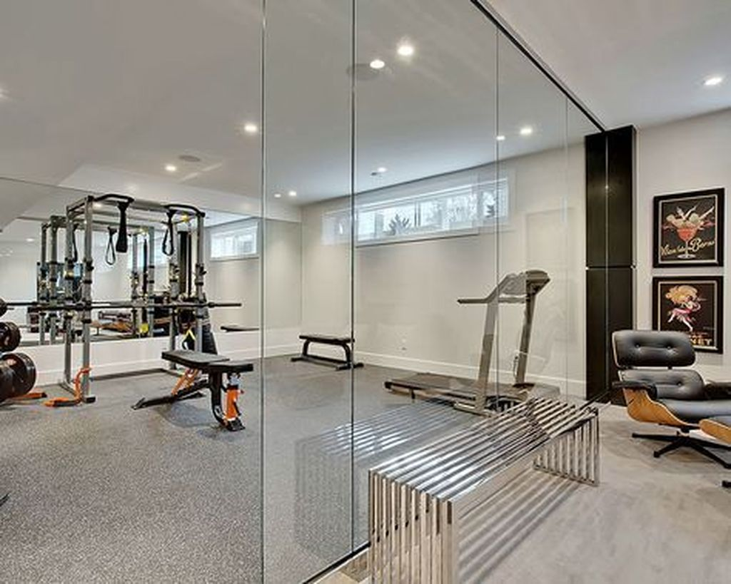 Gorgeous Home Gym Design Ideas Keep You Healthy 30