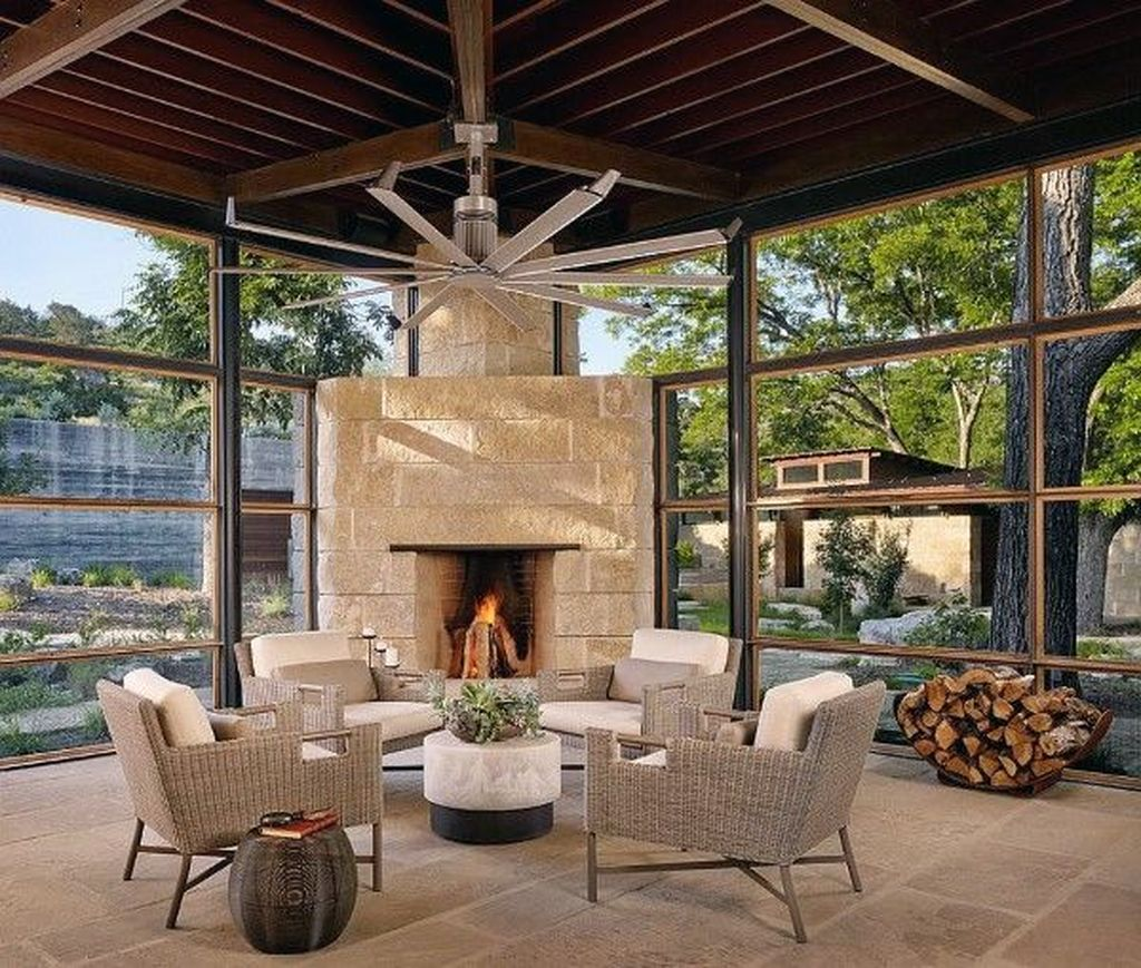 Gorgeous Modern Sunroom Design Ideas To Relax In The Summer 13