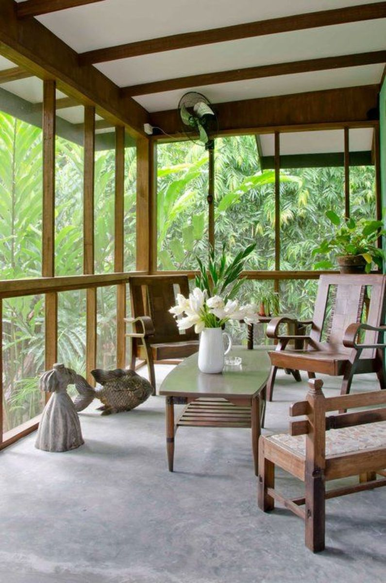 Gorgeous Modern Sunroom Design Ideas To Relax In The Summer 15