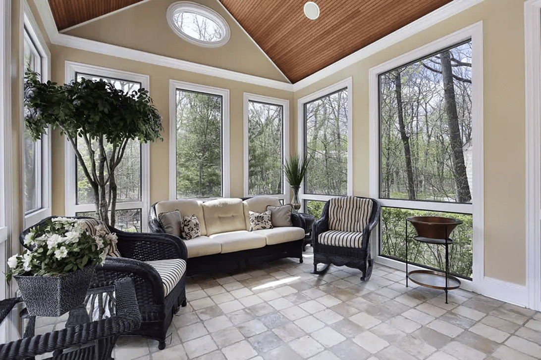 Gorgeous Modern Sunroom Design Ideas To Relax In The Summer 33