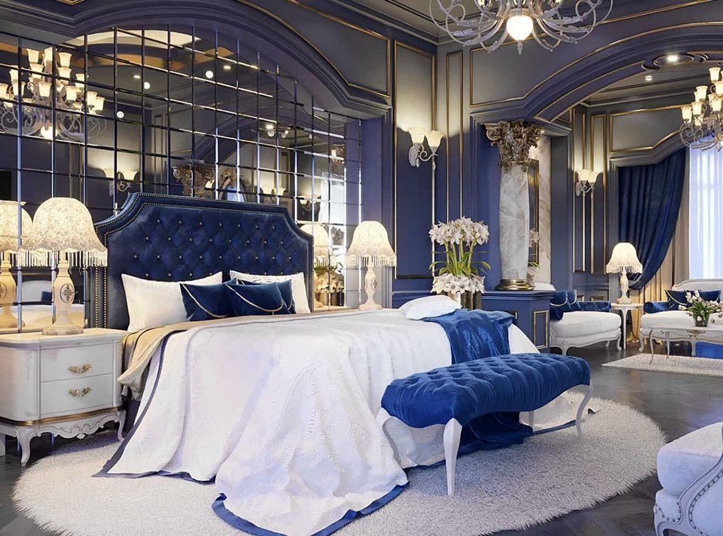 Inspiring Navy Blue Bedroom Decor Ideas You Should Copy 03
