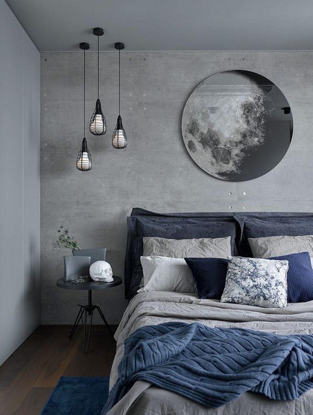 Inspiring Navy Blue Bedroom Decor Ideas You Should Copy 09