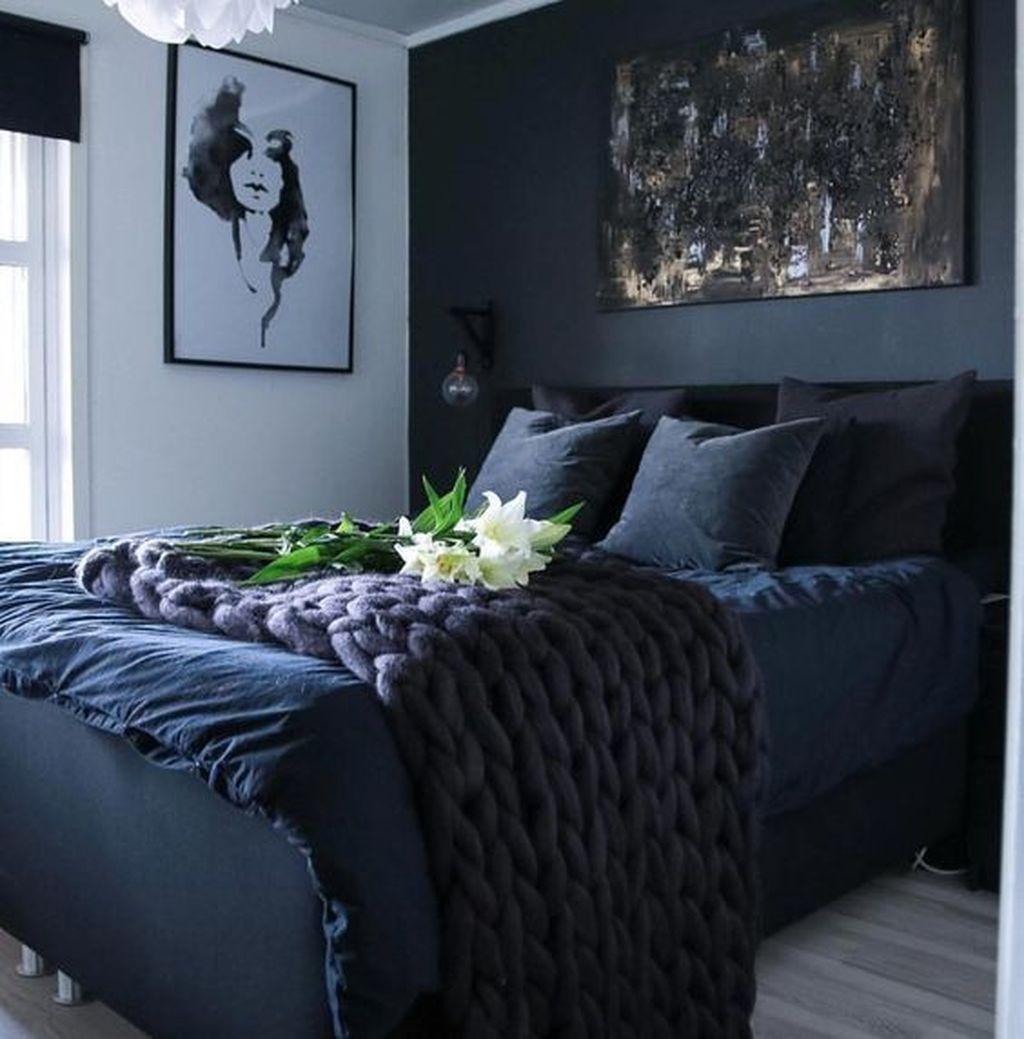 Inspiring Navy Blue Bedroom Decor Ideas You Should Copy 13