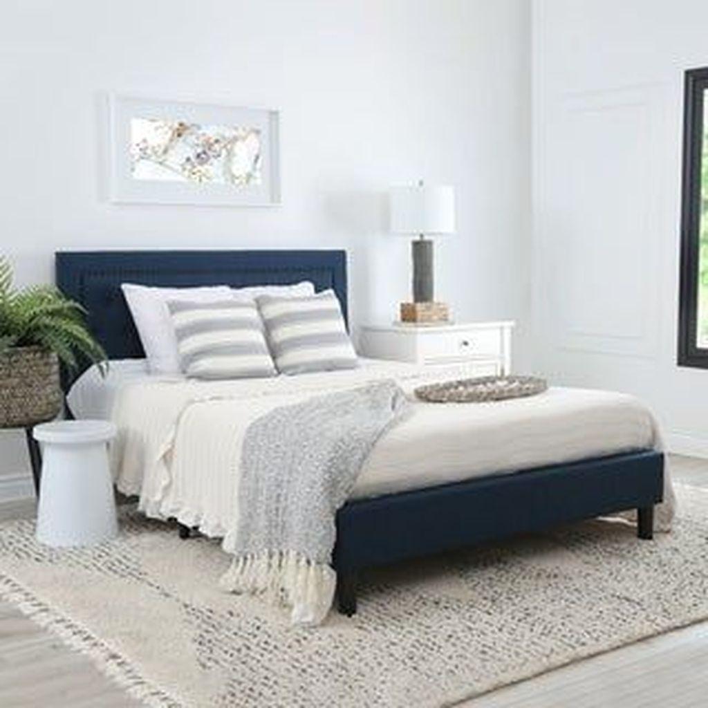 Inspiring Navy Blue Bedroom Decor Ideas You Should Copy 20