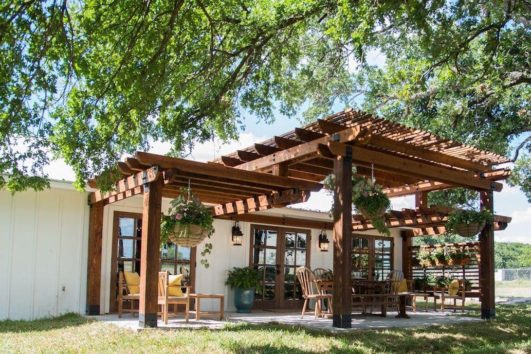 Inspiring Pergola Patio Design Ideas For Your Backyard Decor 03