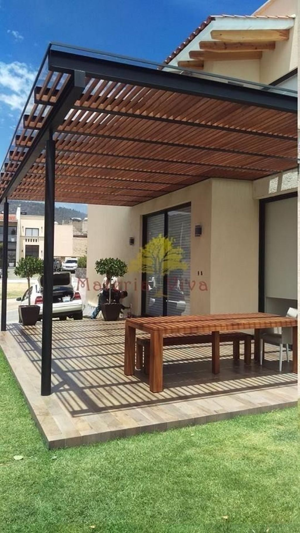 Inspiring Pergola Patio Design Ideas For Your Backyard Decor 04