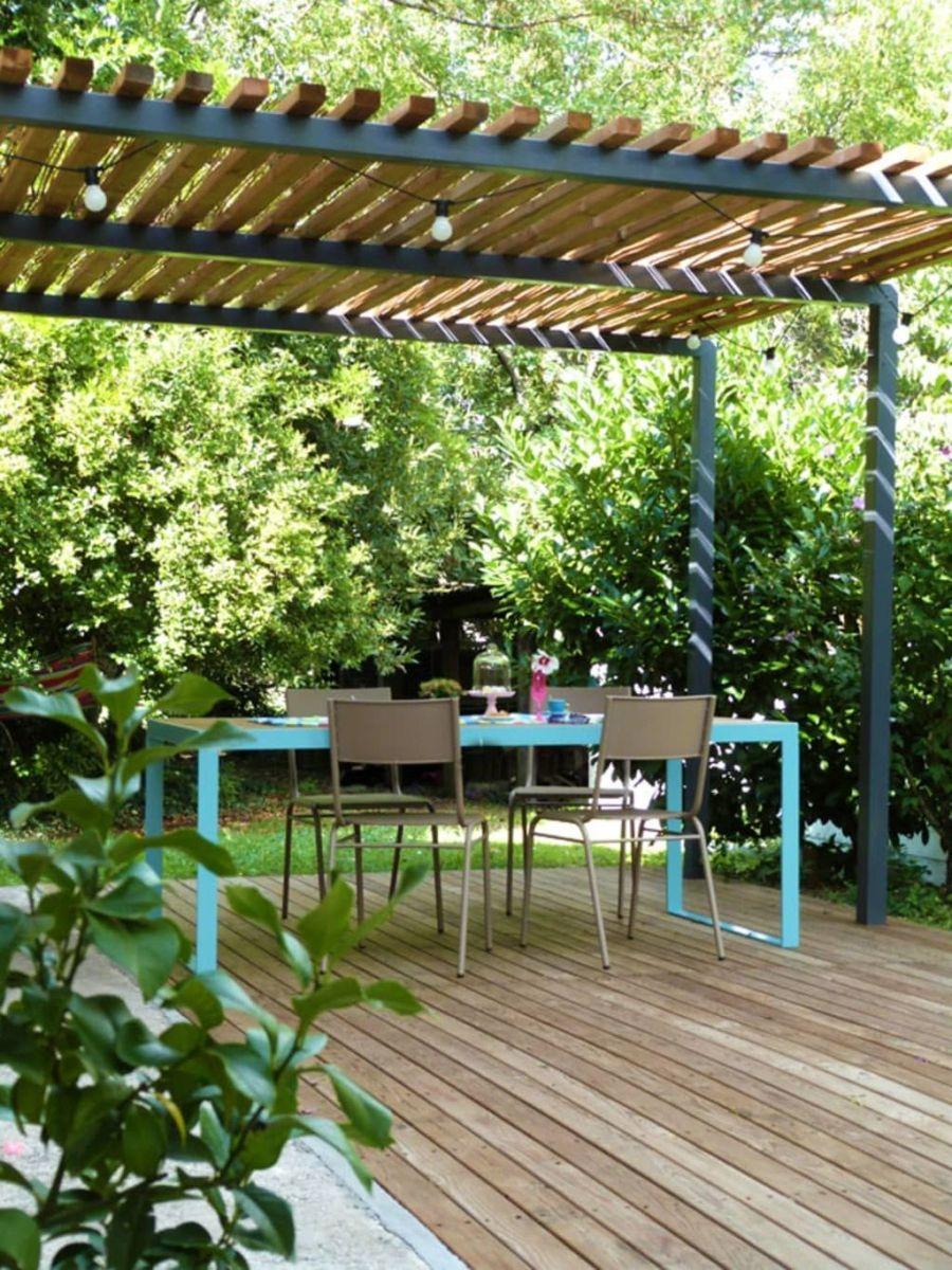 Inspiring Pergola Patio Design Ideas For Your Backyard Decor 13