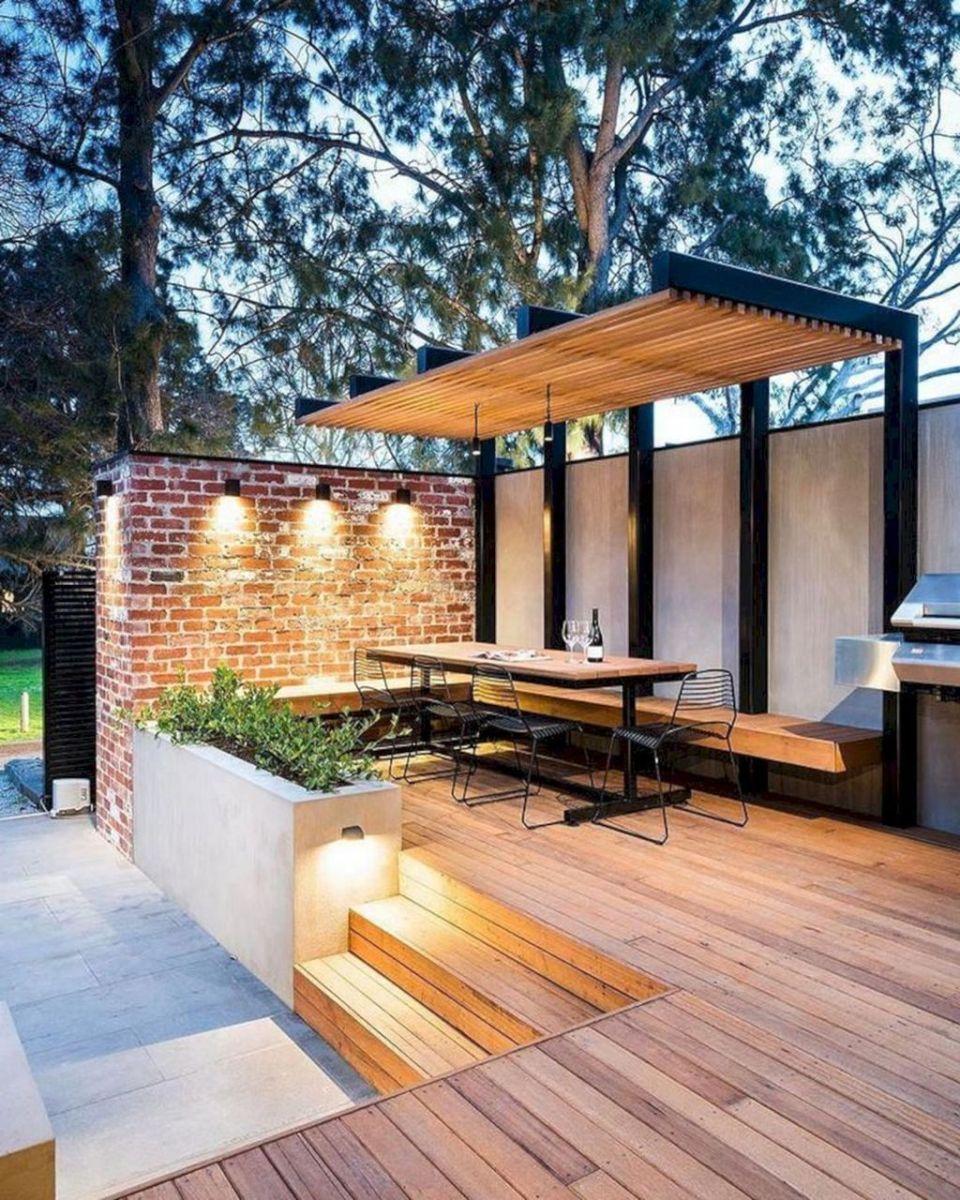 Inspiring Pergola Patio Design Ideas For Your Backyard Decor 15