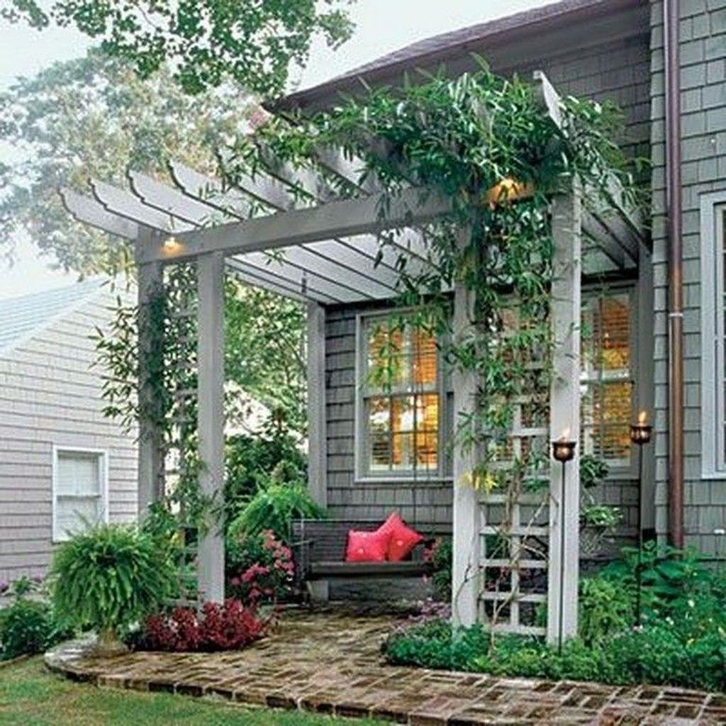 Inspiring Pergola Patio Design Ideas For Your Backyard Decor 17