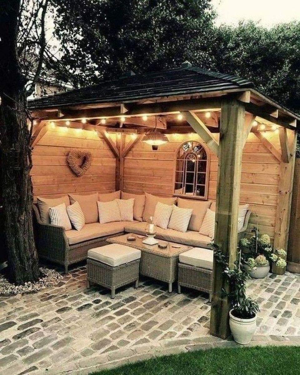 Inspiring Pergola Patio Design Ideas For Your Backyard Decor 20