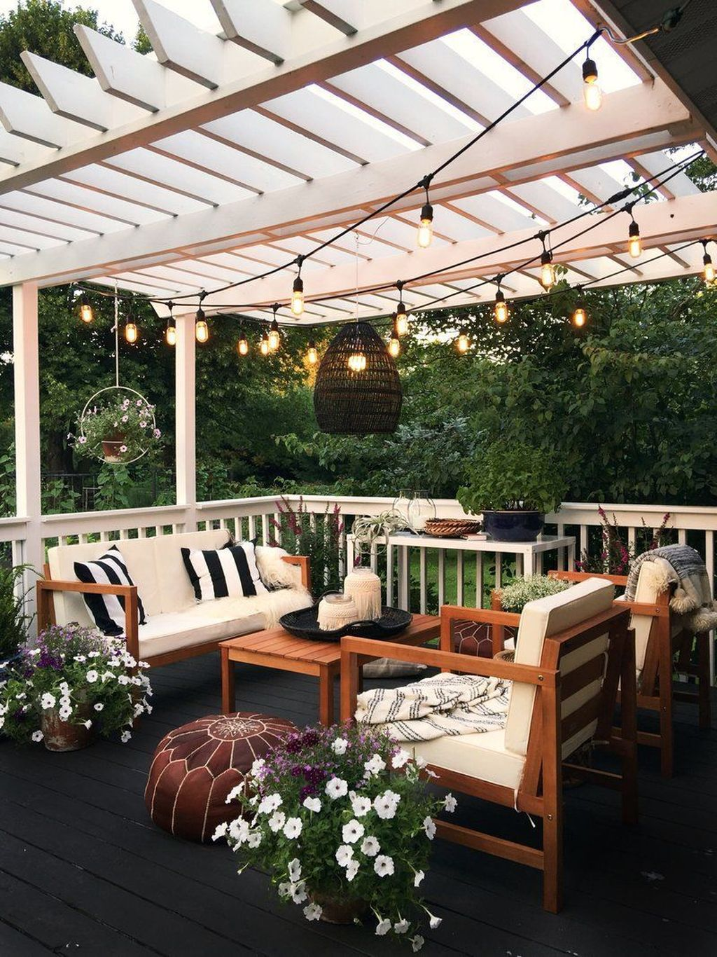 Inspiring Pergola Patio Design Ideas For Your Backyard Decor 31