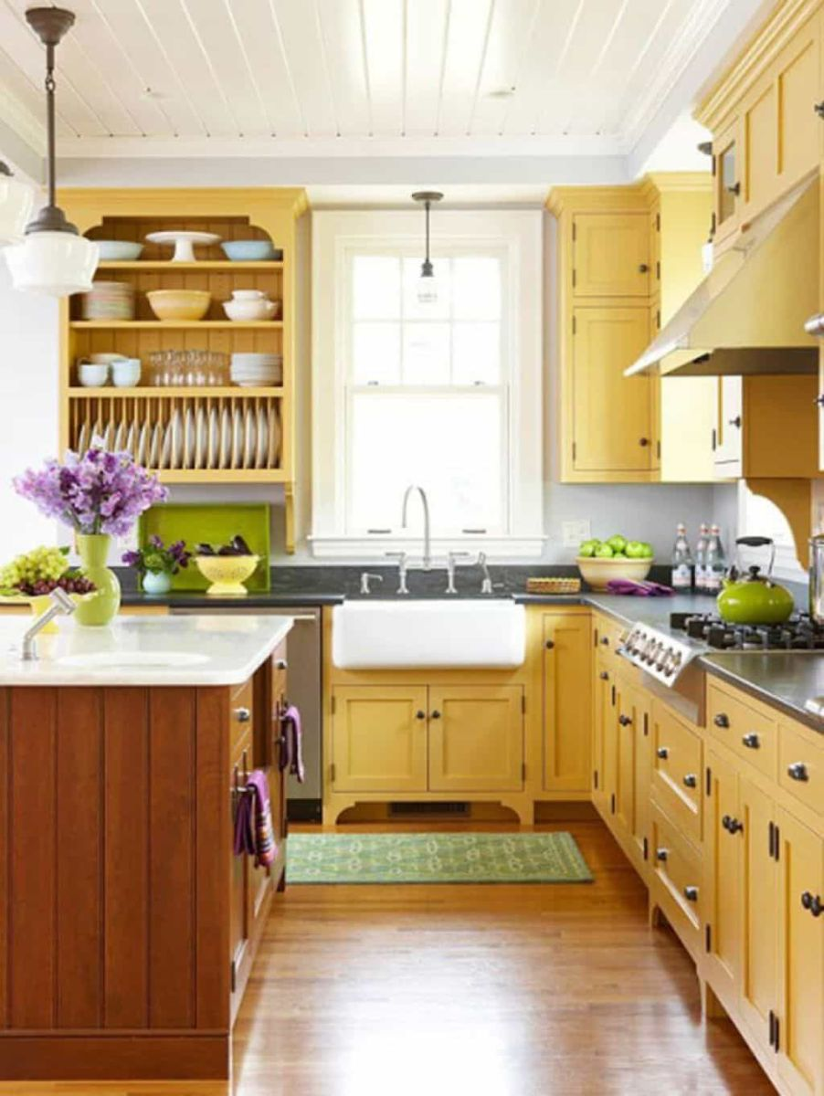 Nice Yellow Kitchen Decor Ideas For This Summer 09