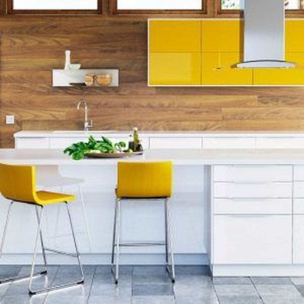 Nice Yellow Kitchen Decor Ideas For This Summer 20