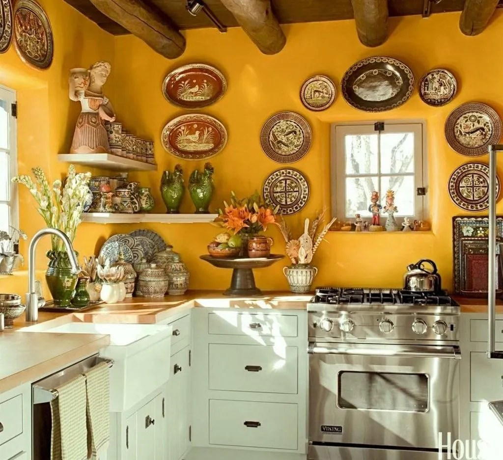 Nice Yellow Kitchen Decor Ideas For This Summer 21