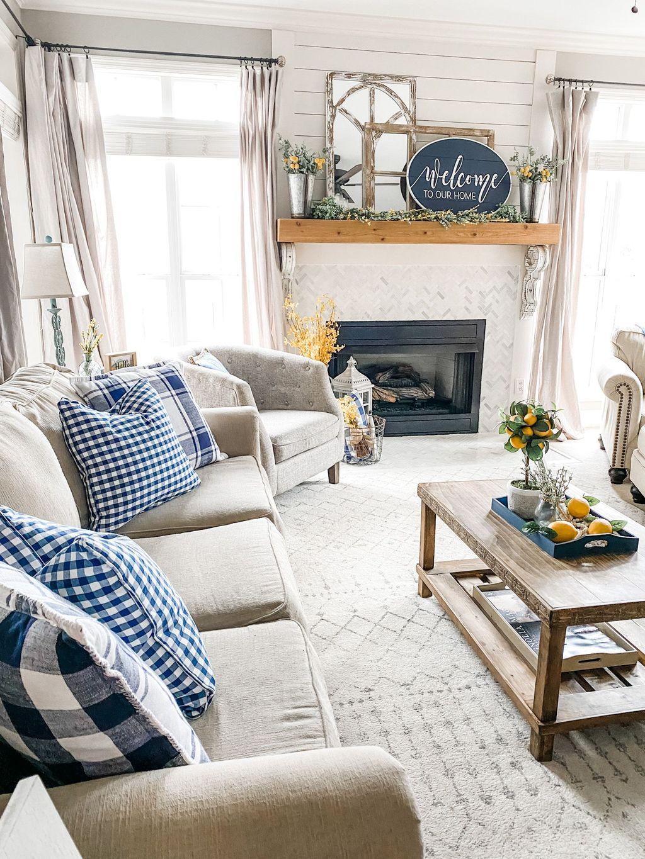Popular Spring Living Room Decor Ideas 02