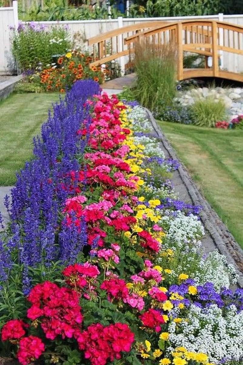 Stunning Backyard Flower Garden Ideas You Should Copy Now 02