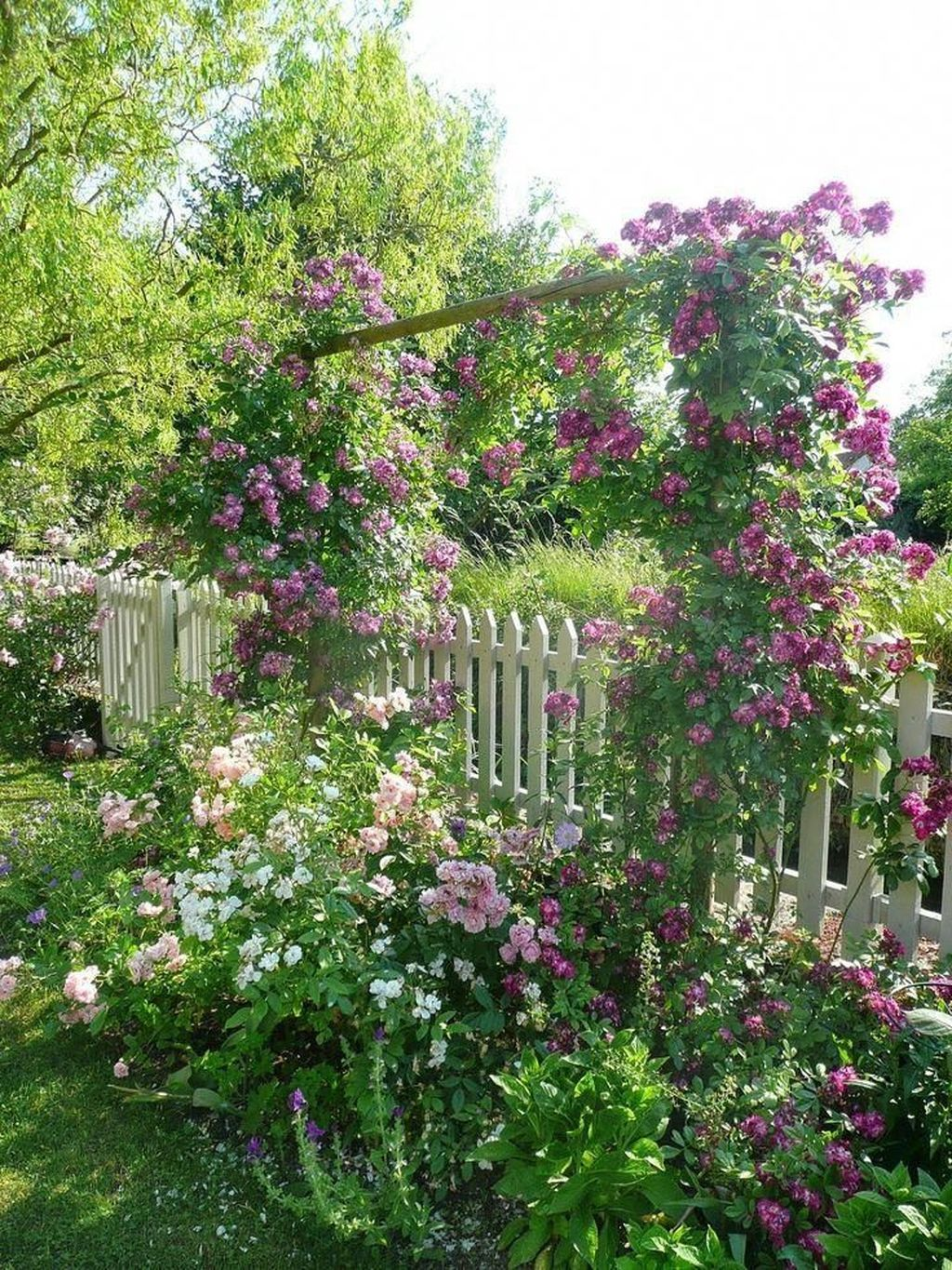Stunning Backyard Flower Garden Ideas You Should Copy Now 03