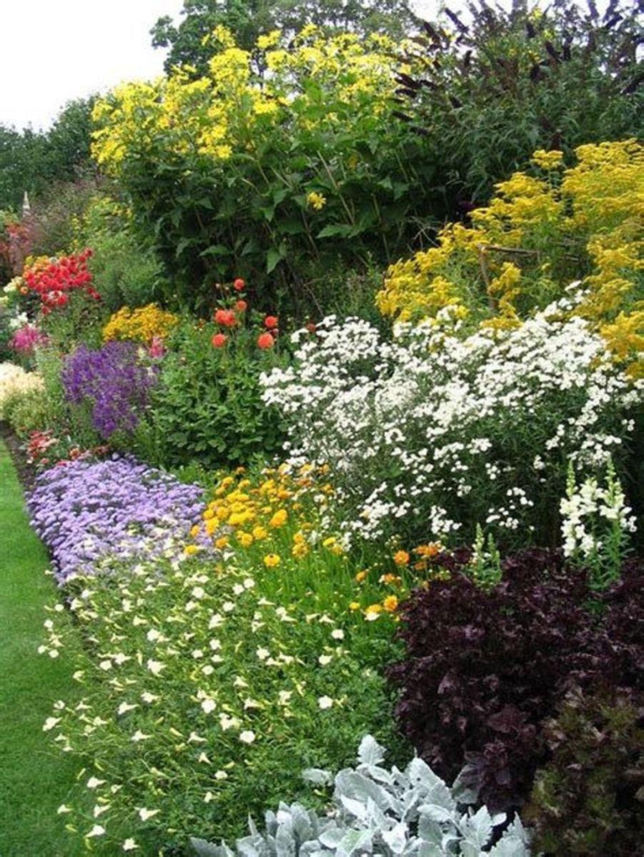 Stunning Backyard Flower Garden Ideas You Should Copy Now 35