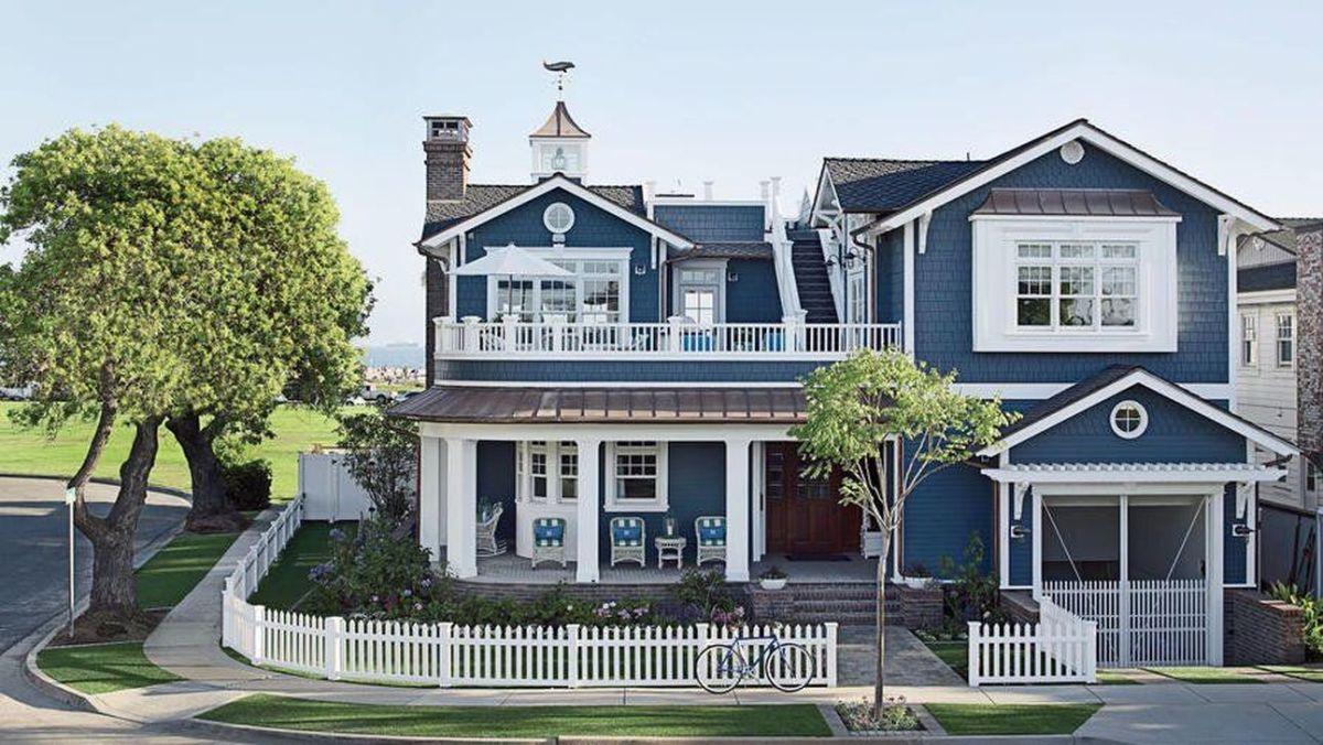Stunning Summer House Colors Exterior Ideas 01