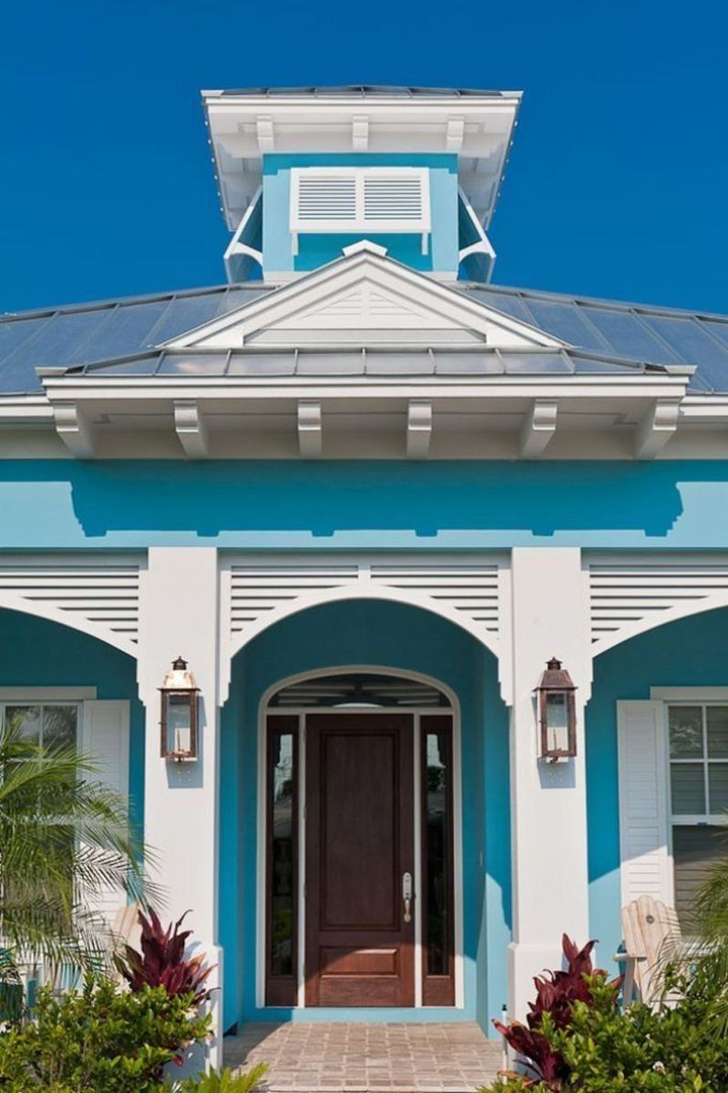 Stunning Summer House Colors Exterior Ideas 15