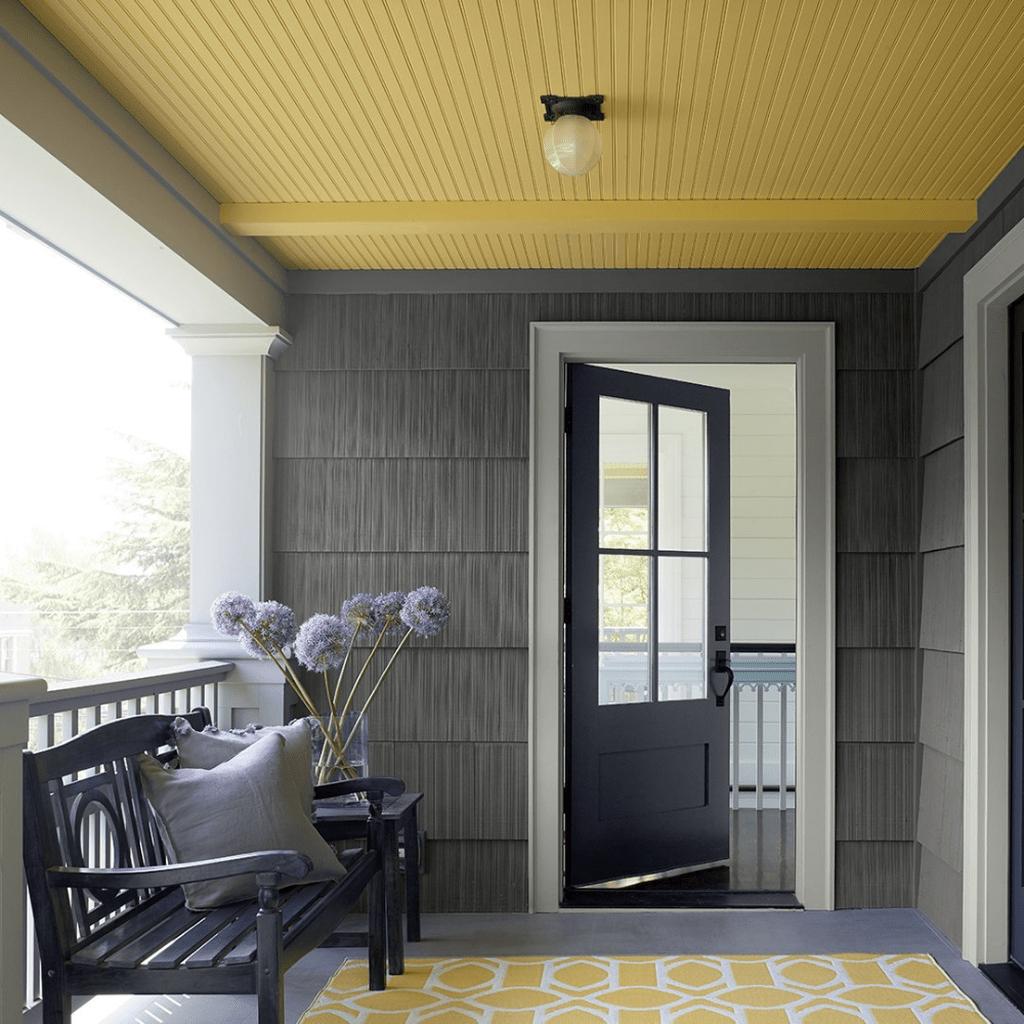 Stunning Summer House Colors Exterior Ideas 16