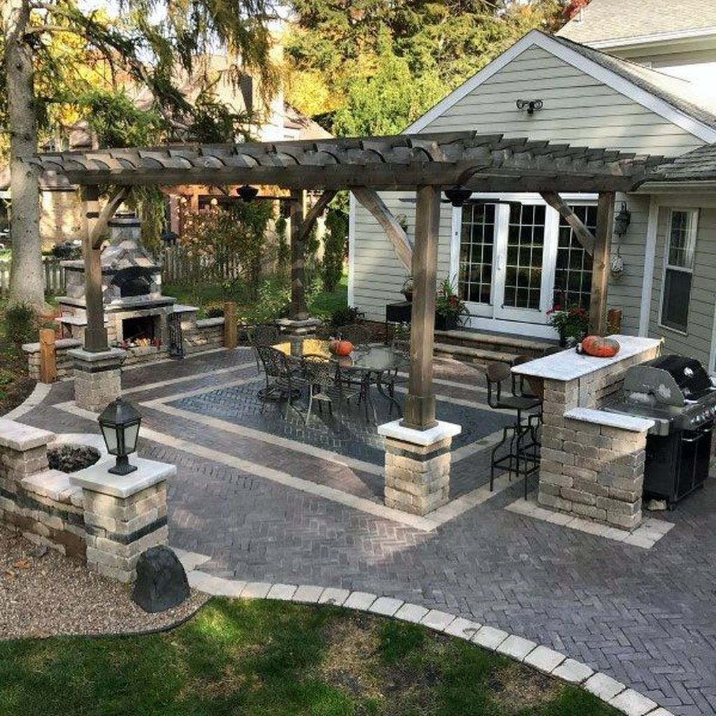 Wonderful Backyard Patio Designs Ideas Perfect For Summertime 03