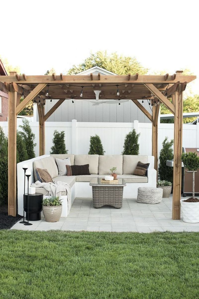 Wonderful Backyard Patio Designs Ideas Perfect For Summertime 24