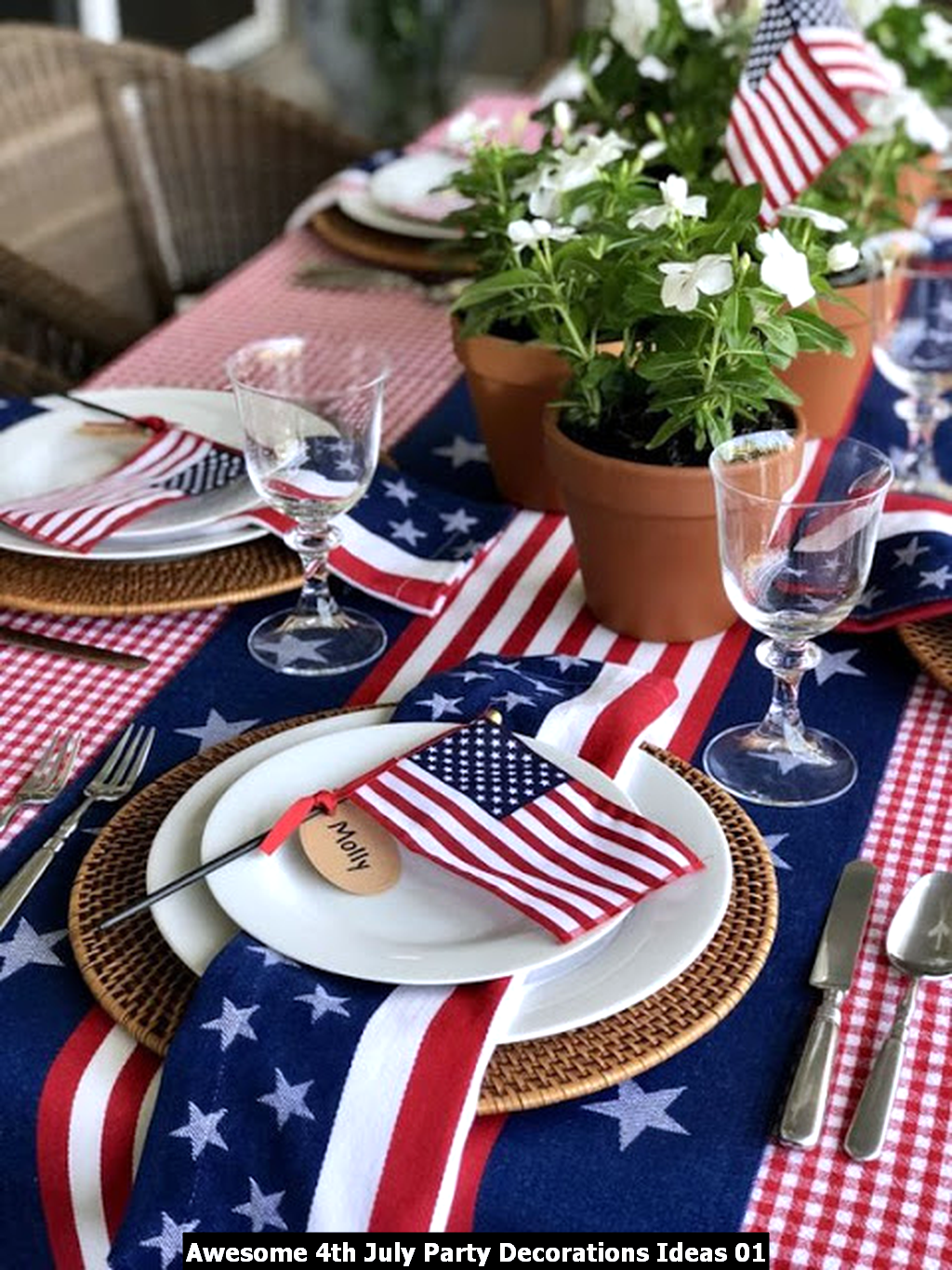Awesome 4th July Party Decorations Ideas 01