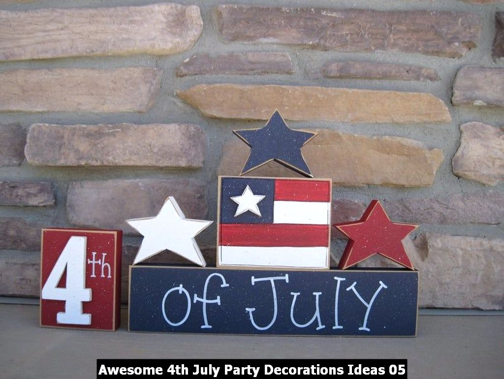 Awesome 4th July Party Decorations Ideas 05