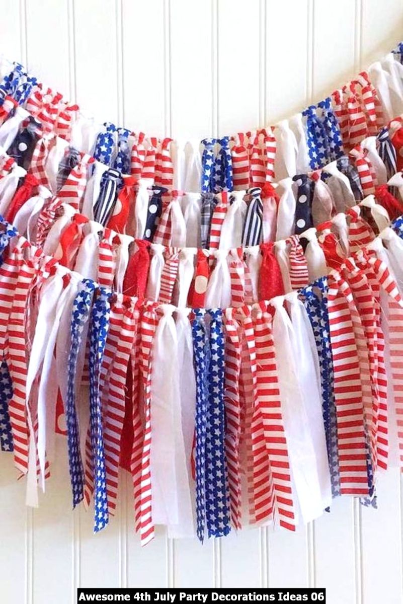 Awesome 4th July Party Decorations Ideas 06