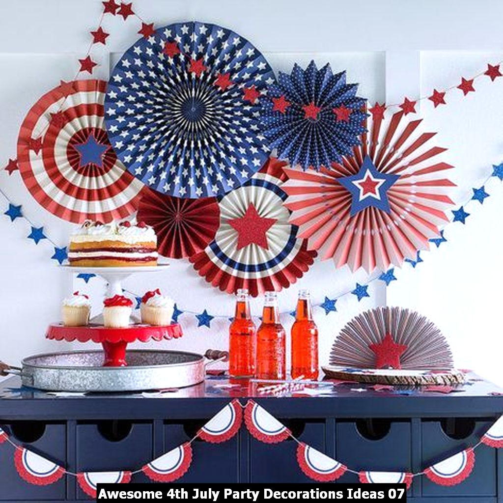Awesome 4th July Party Decorations Ideas 07