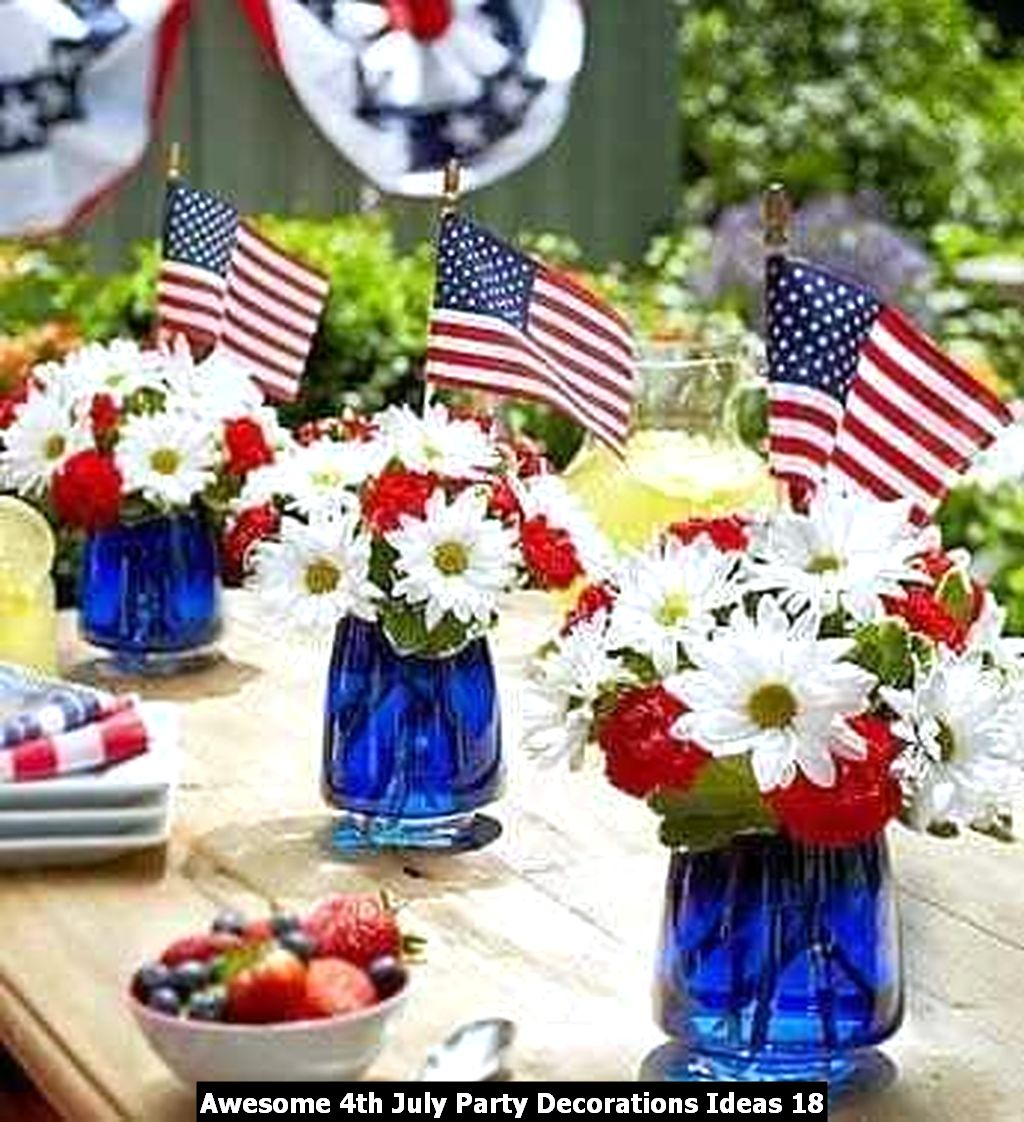 Awesome 4th July Party Decorations Ideas 18
