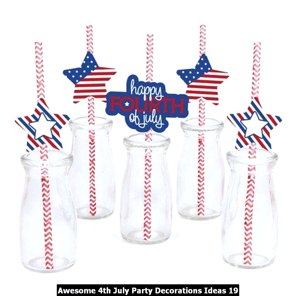 Awesome 4th July Party Decorations Ideas 19