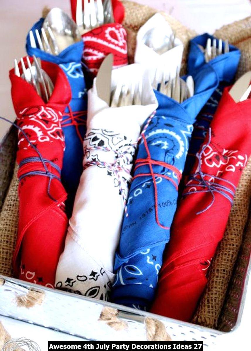 Awesome 4th July Party Decorations Ideas 27