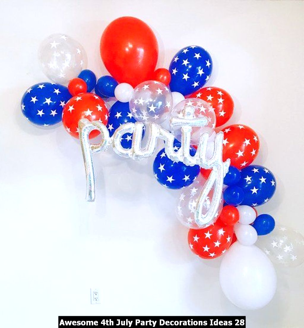 Awesome 4th July Party Decorations Ideas 28