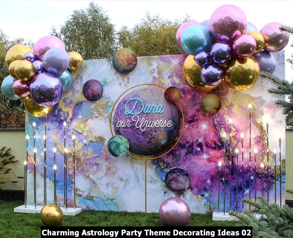 Charming Astrology Party Theme Decorating Ideas 02