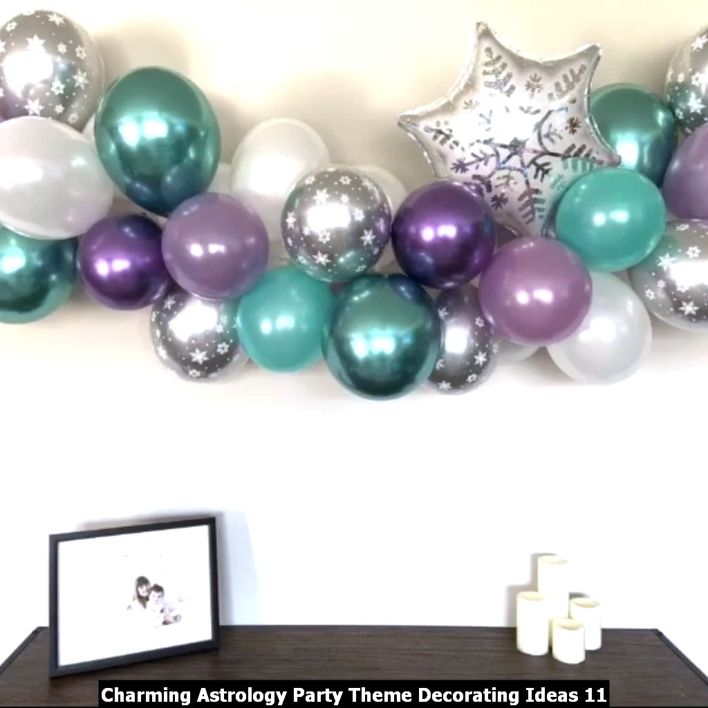 Charming Astrology Party Theme Decorating Ideas 11