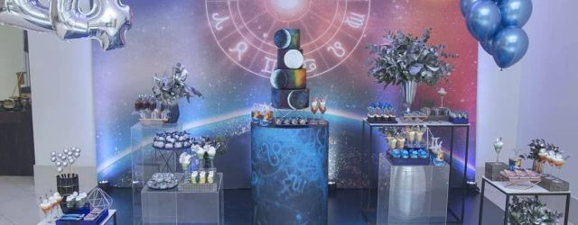 Charming Astrology Party Theme Decorating Ideas 18