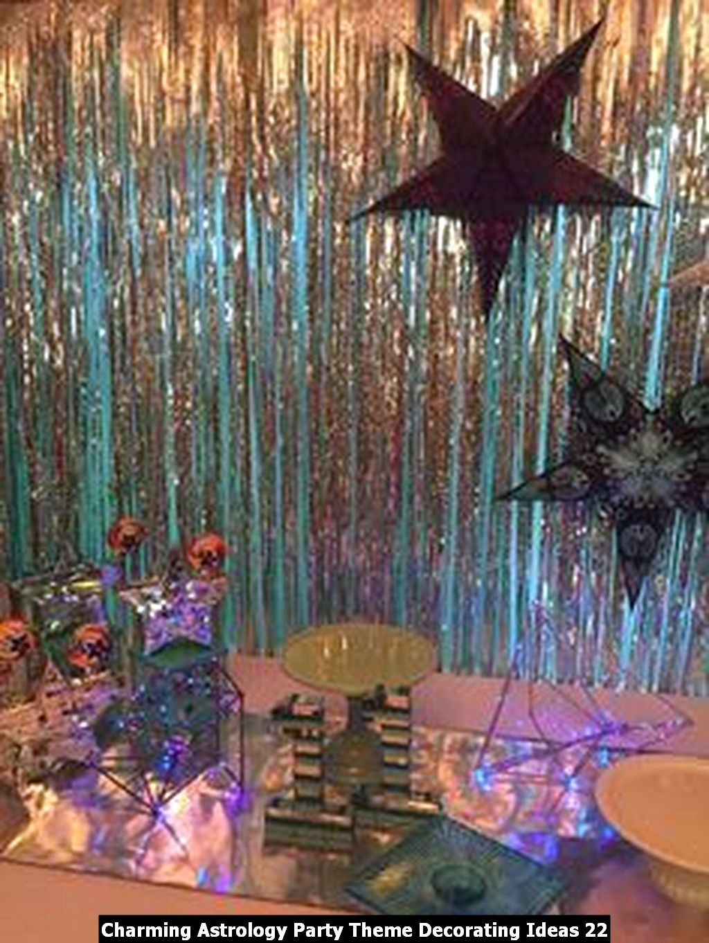 Charming Astrology Party Theme Decorating Ideas 22