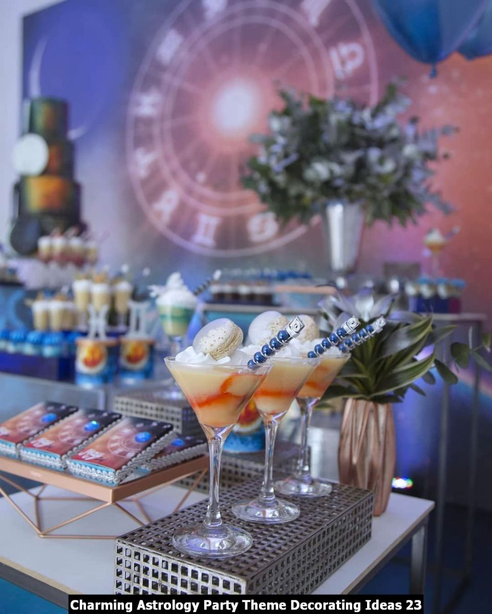 Charming Astrology Party Theme Decorating Ideas 23