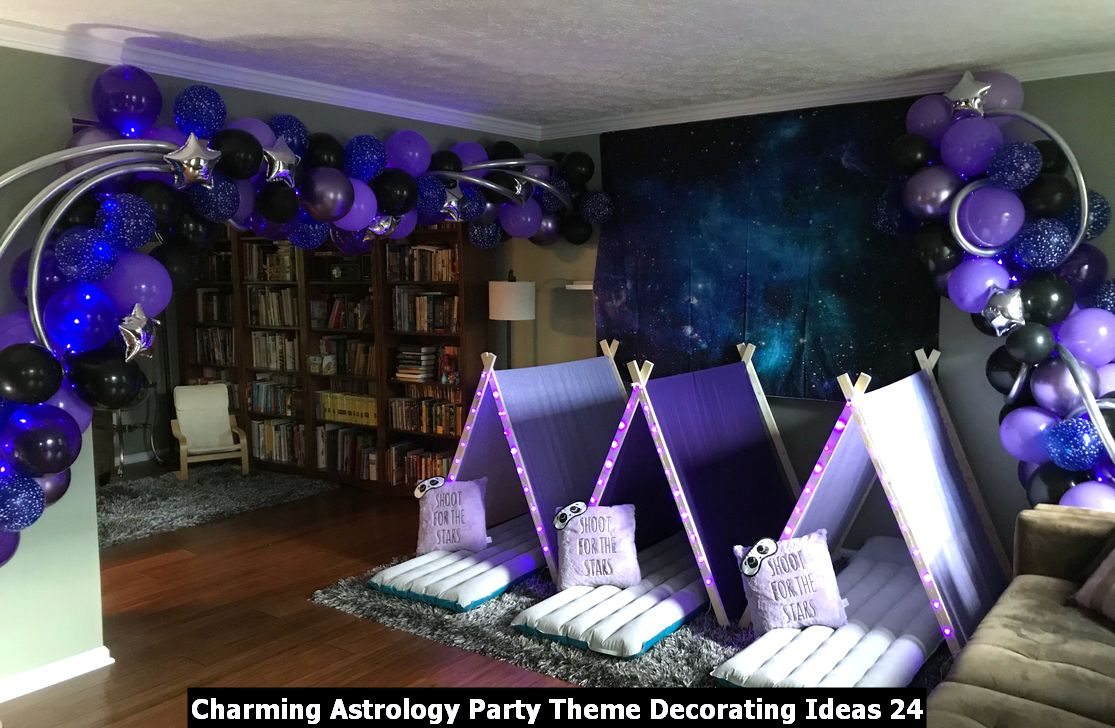 Charming Astrology Party Theme Decorating Ideas 24