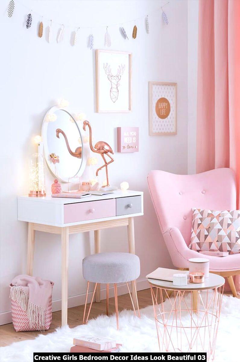 Creative Girls Bedroom Decor Ideas Look Beautiful 03
